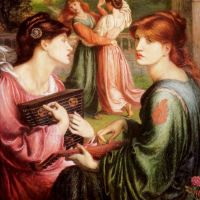 Rossetti The Bower Meadow