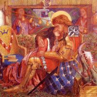 Rossetti The Wedding Of Saint George And The Princess Sabra