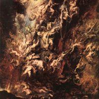Rubens Fall Of The Rebel Angels