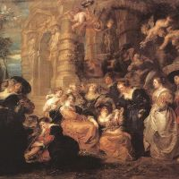Rubens Garden Of Love