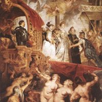 Rubens The Landing Of Marie De Medici At Marseilles