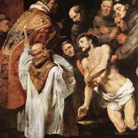 Rubens The Last Communion Of St Francis