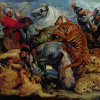 Rubens The Tiger And Lion Hunt