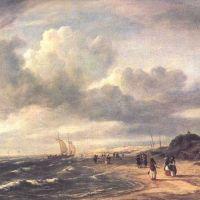 Ruisdael La Plage Pres D Egmond Aan Zee