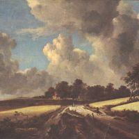 Ruisdael Le Champ De Ble