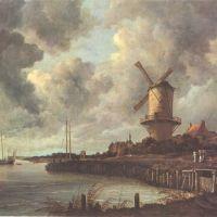 Ruisdael Le Moulin De Wijk A Duurstede