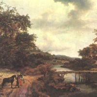 Ruisdael Le Pont De Bois
