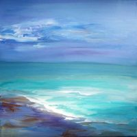 Sea Painting Abstract 16