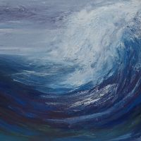 Sea Painting Abstract 18