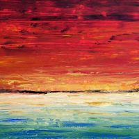 Sea Painting Abstract 6