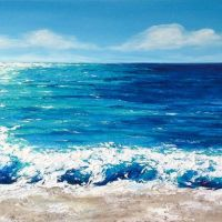 Sea Painting Abstract 7