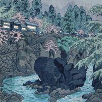 Shiro Kasamatsu Environs Of Higa In Hakone