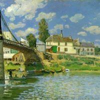 Sisley Alfred Pont A Villeneuve-la-garenne