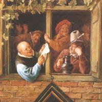 Steen Jan Rhetoricians At A Window