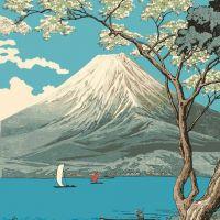 Takahashi Hiroaki Mt. Fuji From Lake Yamanaka