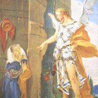 Tiepolo Giovanni Battista Sarah And The Archangel