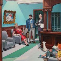 Tintin Hopper Hotel Lobby