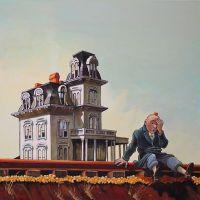 Tintin Hopper House Near The Railroad