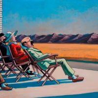 Tintin Hopper People In The Sun