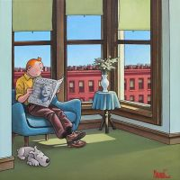 Tintin Hopper Room In Brooklyn