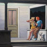 Tintin Hopper Summer Evening