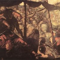 Tintoretto Battle Between Turks And Christians