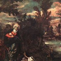 Tintoretto Flight Into Egypt