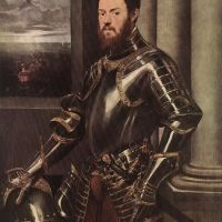 Tintoretto Man In Armour