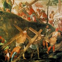 Tintoretto The Ascent To Calvary