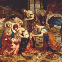Tintoretto The Birth Of St. John The Baptist