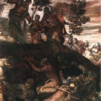 Tintoretto The Miracle Of The Loaves And Fishes