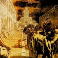 Tintoretto The Stealing Of The Dead Body Of St Mark