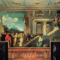 Titian Entry Of Mary Into The Temple 1534 38-large