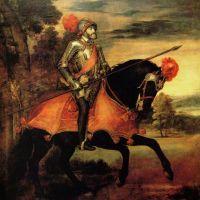 Titian Equestrian Portrait Of Charles V