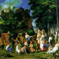 Titian Feast Of The Gods