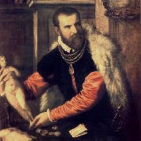 Titian Portrait Of Jacopo Strada