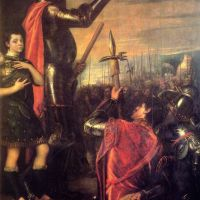 Titian The Speech Of Alfonso D Avalo