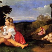 Titian The Three Ages Of Man 1511