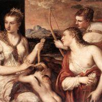 Titian Venus Blindfolding Cupid