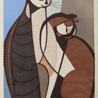Tomoo Inagaki Cats 1964