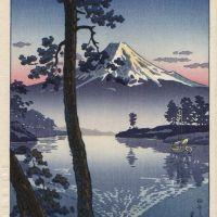 Tsuchiya Koitsu Fuji From Tago Bay 1936