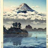 Tsuchiya Koitsu Lake Kawaguchi At The Foot Of Mt Fuji 1938