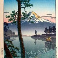 Tsuchiya Koitsu Mt. Fuji At Tagonoura