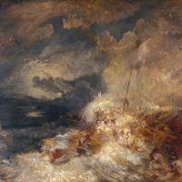 Turner A Disaster At Sea