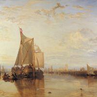 Turner Dort Or Dordrecht- The Dort Packet-boat From Rotterdam Becalmed
