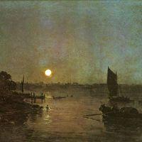 Turner Moonlight A Study At Millbank