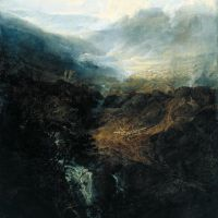 Turner Morning Amongst The Coniston Fells Cumberland
