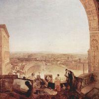 Turner Rome From The Vatican. Raffaelle Accompanied By La Fornarina