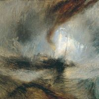 Turner Snow Storm - Steam-boat Off A Harbour S Mouth