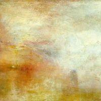 Turner Sun Setting Over A Lake